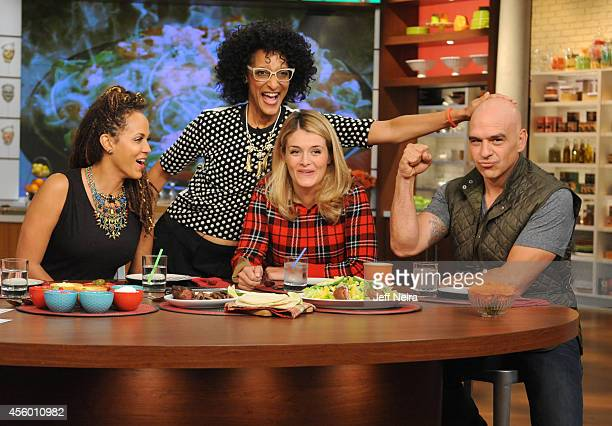 """Nicole Ari Parker is the guest today, Wednesday, September 18, 2014 on Walt Disney Television via Getty Images's """"The Chew."""" """"The Chew"""" airs MONDAY -..."""
