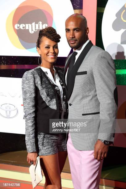 Nicole Ari Parker Kodjoe and Boris Kodjoe attend the 2013 Soul Train Awards on November 8 2013 in Las Vegas Nevada