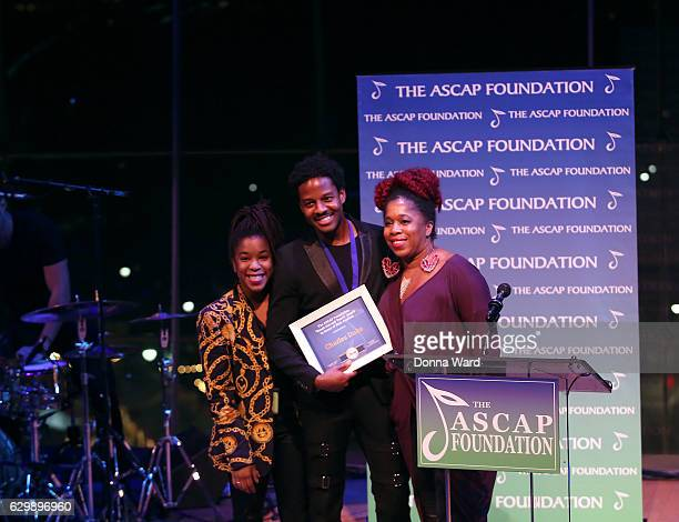 Nicole Ashford Charles Duke and Asia Ashford attend the 2016 ASCAP Foundation Honors at Frederick P Rose Hall Jazz at Lincoln Center on December 14...