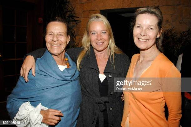 Nicole Bagar Paige Pedersen and Mona Arnold attend Special Preview Screening of 'A PASSION FOR GIVING' by ROBIN BAKER LEACOCK at Ross School on...