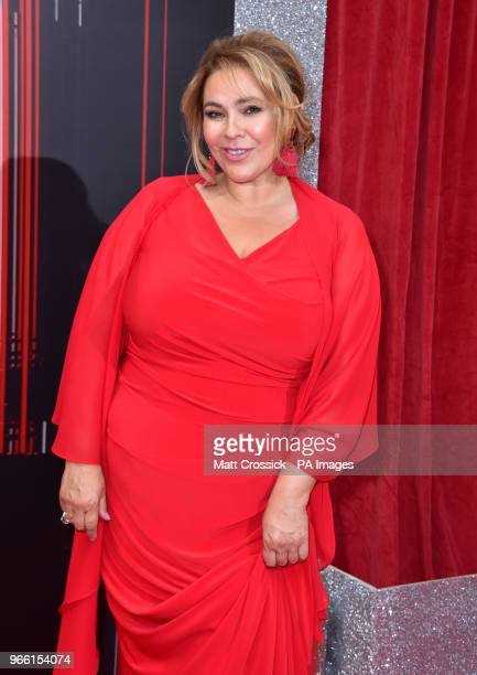 Nicole Barber Lane attending the British Soap Awards 2018 held at The Hackney Empire London PRESS ASSOCIATION Photo Picture date Saturday June 2 2018...