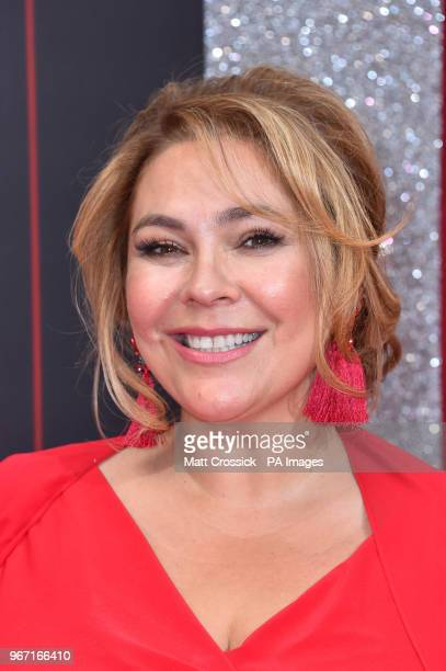 Nicole Barber Lane attending the British Soap Awards 2018 held at The Hackney Empire London