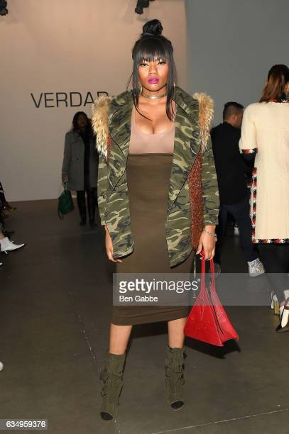Nicole Beason attends Verdad fashion show at Pier 59 during New York Fashion Week at Pier 59 on February 12 2017 in New York City