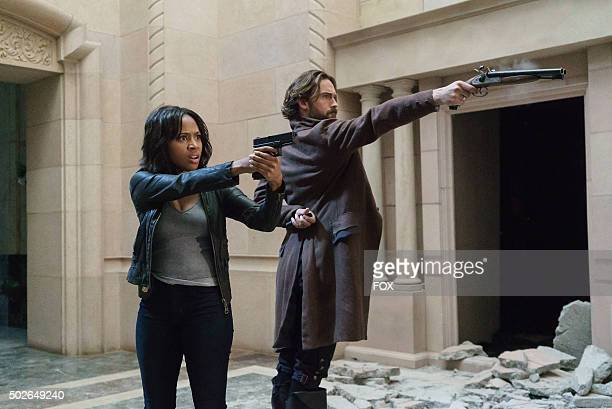 Nicole Beharie and Tom Mison in the Dead Men Tell No Tales' episode of SLEEPY HOLLOW airing Thursday Oct 29 on FOX