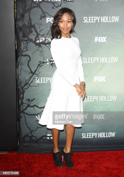 Nicole Beharie arrives at Fox's Sleepy Hollow special screening held at Hollywood Forever on June 2 2014 in Hollywood California