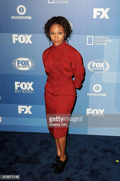 Nicole Beharie attends 2015 FOX Programming Presentation at Wollman Rink Central Park on May 11 2015 in New York City