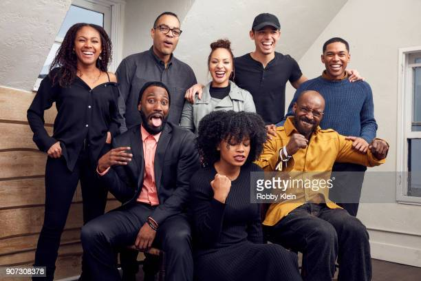 Nicole Beharie Reinaldo Marcus Green Jasmine Cephas Jones Anthony Ramos Kelvin Harrison Jr John David Washington Chanté Adams and Rob Morgan from the...