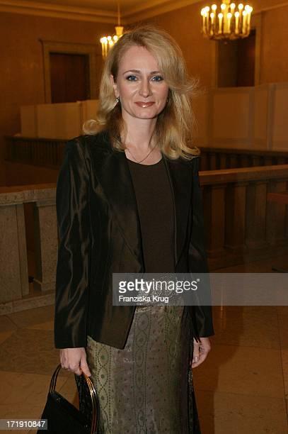 Nicole Bei Der Präsentation Des Albums MozartPremiere Von K Jahn Im Herkulessaal In Der Residenz In München
