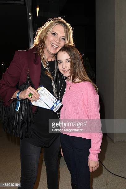 Nicole BelstlerBoettcher and her daughter Talia attend 'Apassionata Die goldene Spur' Munich Premiere at Olympiahalle on January 3 2015 in Munich...