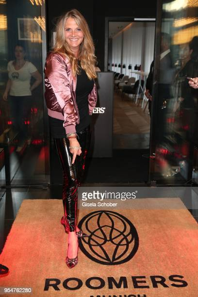 Nicole Belstler-Boettcher during the Grand Opening of Roomers Spa by Shan Rahimkhan on May 4, 2018 in Munich, Germany.