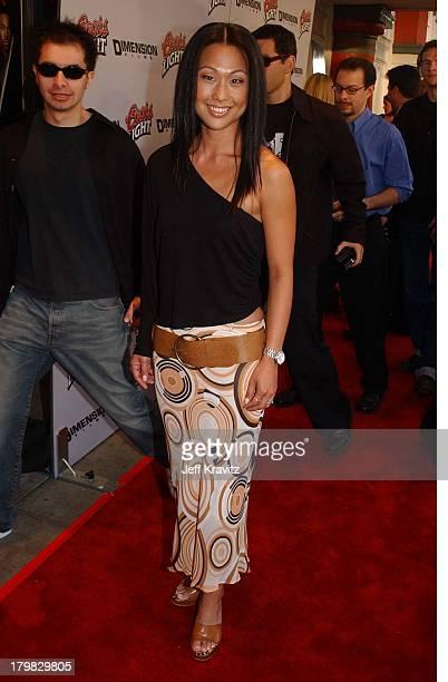Nicole Bilderback during Premiere of Dimensions Films Halloween Resurrection in Los Angeles California United States