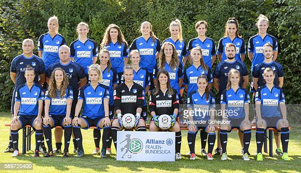 Nicole Billa Fabienne Dongus Sharon Beck goalkeeper Friederike Abt goalkeeper Martina Tufekovic Martina Moser Tabea Wassmuth and Christine Schneider...