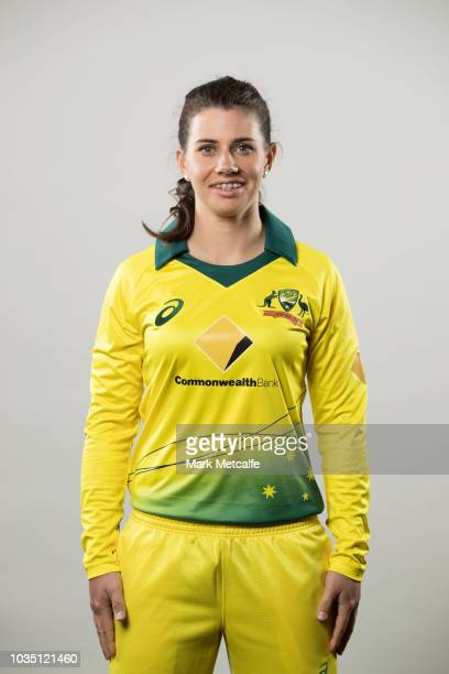 Nicole Bolton poses during the Cricket Australia Women's National Squad Player Camp on September 13 2018 in Sydney Australia