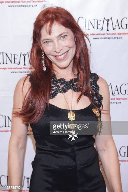 Nicole Brandon attends the 30th Anniversary Of The CineMagic Charity Gala at The Fairmont Miramar Hotel & Bungalows on June 27, 2019 in Santa Monica,...