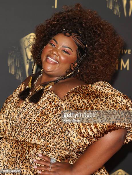 Nicole Byer attends the 2021 Creative Arts Emmys at Microsoft Theater on September 12, 2021 in Los Angeles, California.