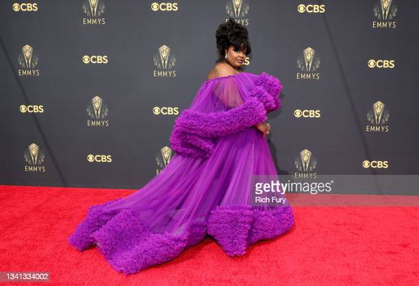 Nicole Byer attends the 73rd Primetime Emmy Awards at L.A. LIVE on September 19, 2021 in Los Angeles, California.