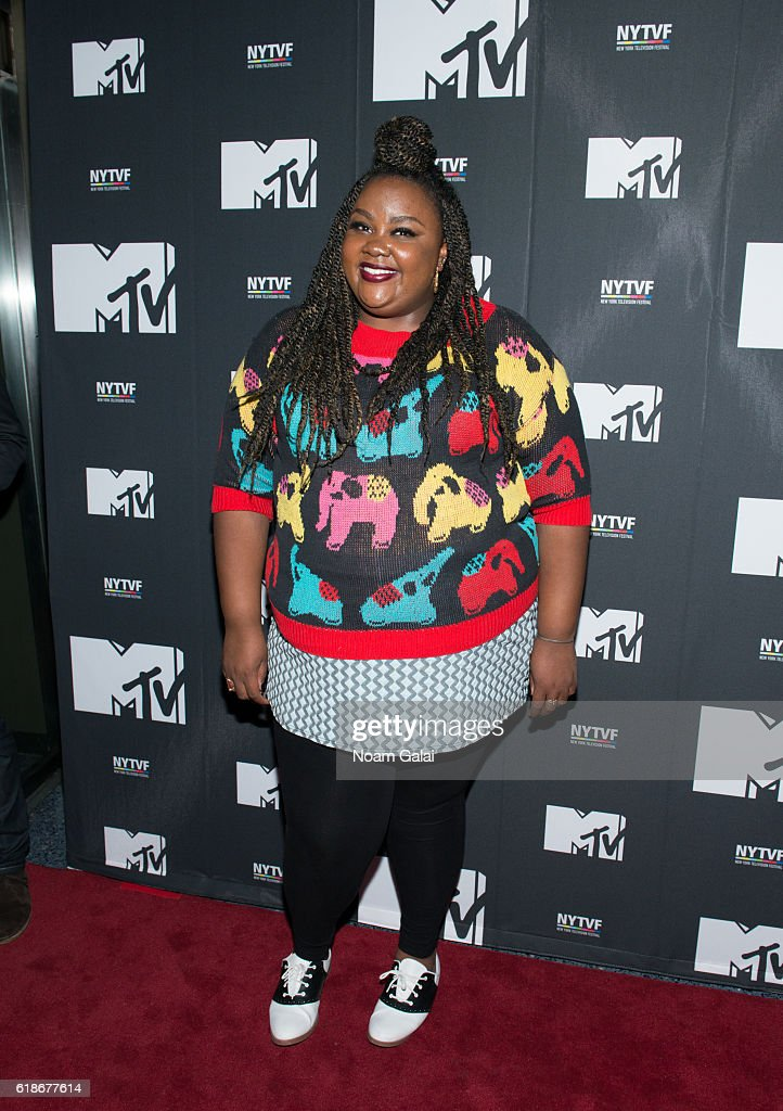 Nicole Byer attends 'The Struggle Is Real: Gender, Race, Entrepreneurship And The Women Of MTV' during the 12th Annual New York Television Festival at SVA Theater on October 27, 2016 in New York City.