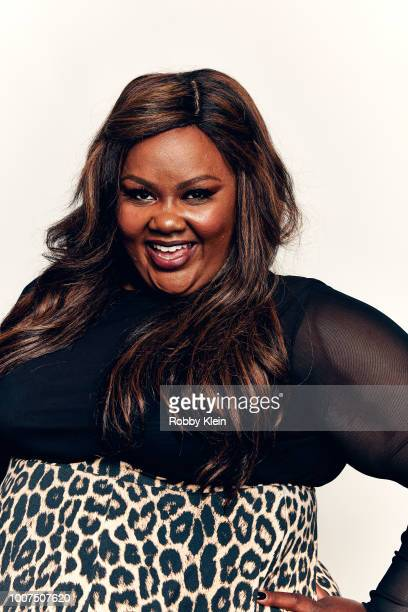 Nicole Byer of Netlix's 'Nailed It' poses for a portrait during the 2018 Summer Television Critics Association Press Tour at The Beverly Hilton Hotel...