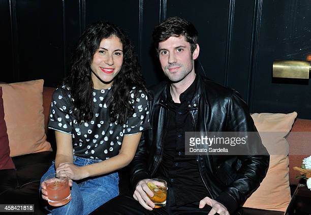 Nicole Cari and Grant Sharp attend the private dinner to celebrate Scott Sternberg and 10 Years of Band of Outsiders hosted by Barneys New York and...