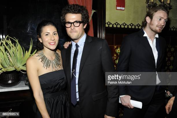 Nicole Cari and Jacob Soboroff attend OPENING CEREMONY and BLACK FRAME host CFDA After Party at The Jane Hotel on June 15 2009 in New York City