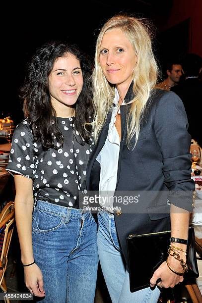 Nicole Cari and stylist Jessica De Ruiter attend the private dinner to celebrate Scott Sternberg and 10 Years of Band of Outsiders hosted by Barneys...