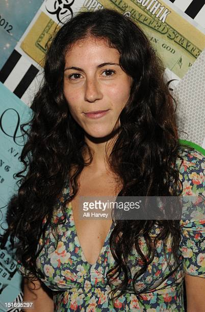 Nicole Cari attends the Opening Ceremony Spring/Summer 2013 Fashion Week Party at Webster Hall on September 9 2012 in New York City
