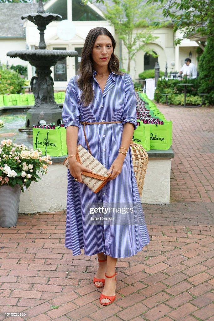 Nicole Clayton attends Harper's BAZAAR X Sam Edelman Mid-Summer Hamptons Event on August 2, 2018 in Southampton, New York.
