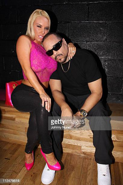 Nicole Coco Austin and IceT attend Raekwon's Only Built 4 Cuban Linx II album release party at Santos Party House on September 8 2009 in New York City