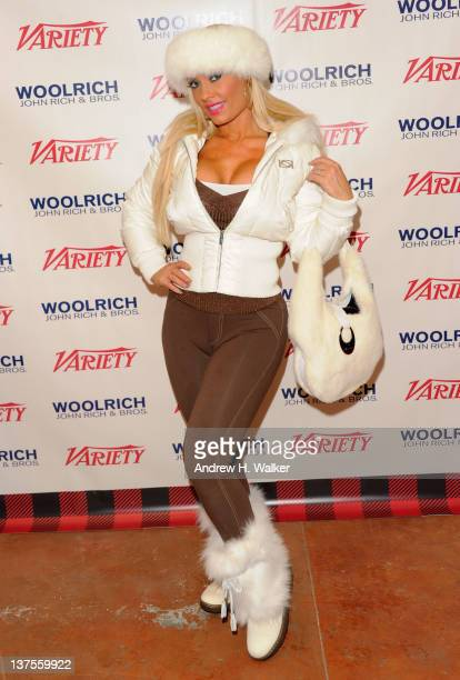 Nicole 'Coco' Austin attends Day 2 of the Variety Studio during the 2012 Sundance Film Festival held at Variety Studio At Sundance on January 22 2012...