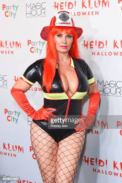 Nicole 'Coco' Austin attends Heidi Klum's 18th Annual Halloween Party at Magic Hour Rooftop Bar Lounge on October 31 2017 in New York City