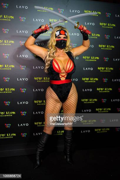 Nicole 'Coco' Austin attends Heidi Klum's 19th Annual Halloween party at Lavo on October 31 2018 in New York City