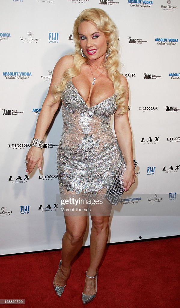Nicole 'Coco' Austin hosts New Year's Eve at LAX nightclub on December 31, 2012 in Las Vegas, Nevada.