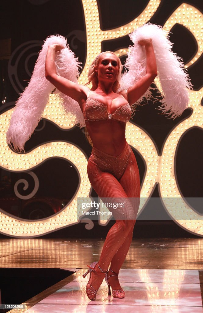 Nicole Coco Austin makes her grand debut as the star of 'Peepshow' at Planet Hollywood on December 17, 2012 in Las Vegas, Nevada.