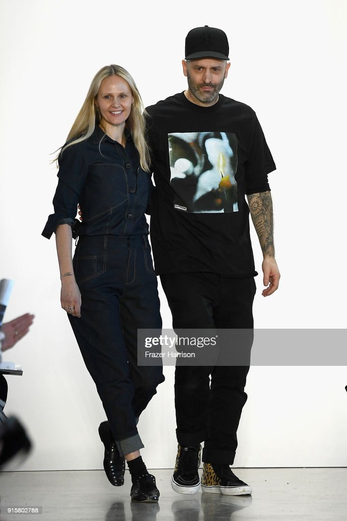 Colovos - Runway - February 2018 - New York Fashion Week: The Shows : News Photo