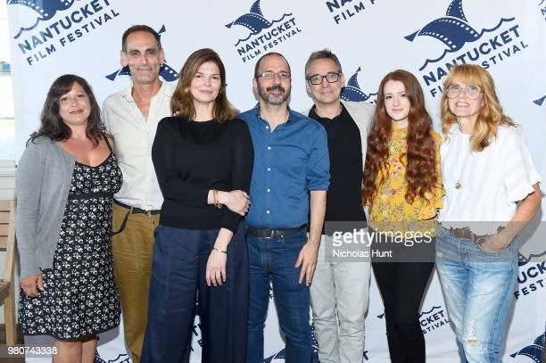 Nicole Cosgrove Damian Young Jeanne Tripplehorn Basil Tsiokos Donal Lardner Ward Taylor Rose and Elizabeth Crane attend the screening of 'We Only...