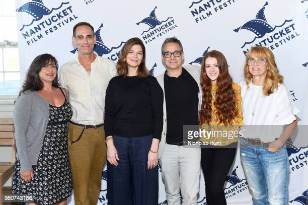 Nicole Cosgrove Damian Young Jeanne Tripplehorn Donal Lardner Ward Taylor Rose and Elizabeth Crane attend the screening of 'We Only Know So Much' at...