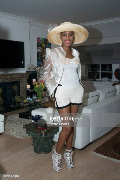Nicole Coste attends Hofit Golan's Birthday celebrations on June 03 2017 in London England