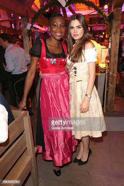 Nicole Coste mother of Albert of Monaco's son Alexandre and Hava during the Oktoberfest 2015 at Kaeferschaenke / Theresienwiese on Oktober 01 2015 in...