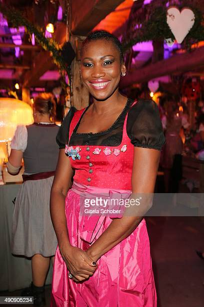 Nicole Coste mother of Albert of Monaco's son Alexandre during the Oktoberfest 2015 at Kaeferschaenke / Theresienwiese on Oktober 01 2015 in Munich...