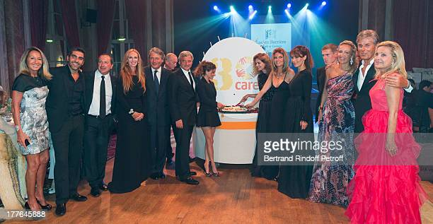 Nicole Coullier Ary Abittan CEO of Care France Philippe Leveque President of Care France Honorary Committee Clelia d'Aulan Benenati Deauville mayor...