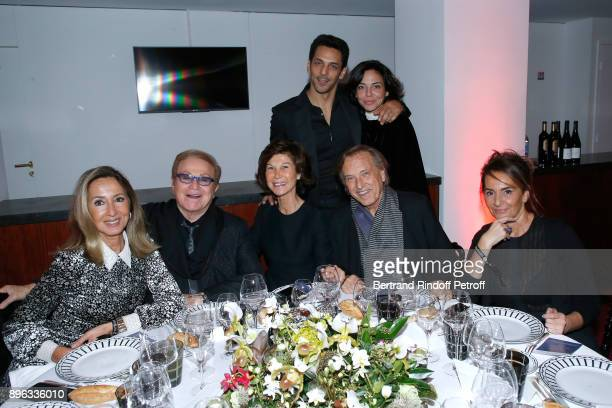 Nicole Coullier Orlando Sylvie Rousseau Tomer Sisley his wife Sandra Alexandre Arcady and guest attend the Gala evening of the PasteurWeizmann...