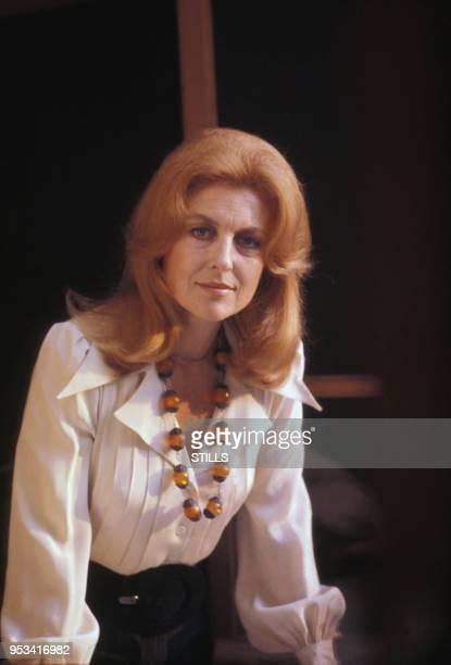 Nicole Courcel dans les années 70 à Paris France Circa 1970