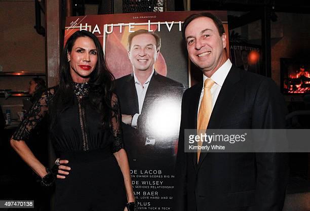 Nicole Curran and Joe Lacob at Haute Living & Hublot Celebrate Joe Lacob at EPIC Steak on November 16, 2015 in San Francisco, California.