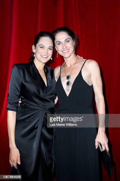 Nicole Da Silva and Kristina Ceyton attends the 2018 AACTA Awards Presented by Foxtel | Industry Luncheon at The Star on December 3 2018 in Sydney...
