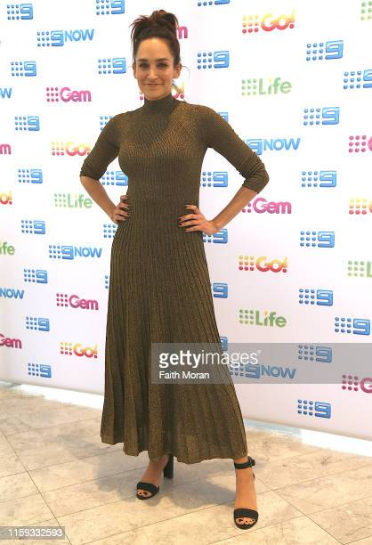 Nicole da Silva attends Nine's post Logies Recovery Brunch at The Star Gold Coast on July 01 2019 in Gold Coast Australia