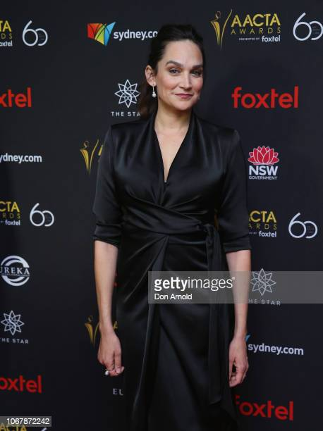 Nicole da Silva attends the 2018 AACTA Awards | Industry Luncheon at The Star on December 3 2018 in Sydney Australia
