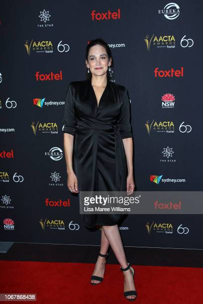 Nicole da Silva attends the 2018 AACTA Awards Presented by Foxtel | Industry Luncheon at The Star on December 3 2018 in Sydney Australia