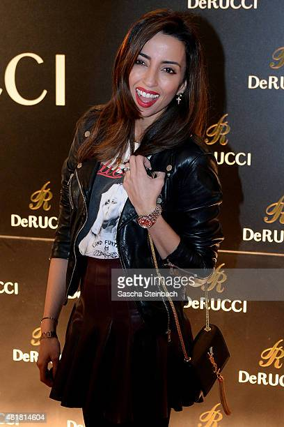 Nicole da Silva attends the DeRucci Grand Opening party at Cologne Flora on January 19 2015 in Cologne Germany