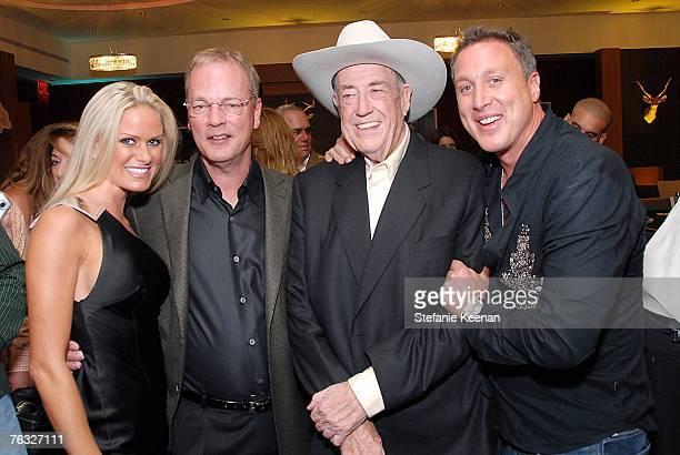 Nicole Dahm Poker Star Bobby Baldwin Poker Star Doyle Brunson and Michael Kelly attends The Ivy Hotel Premiere on August 24 2007 in San Diego