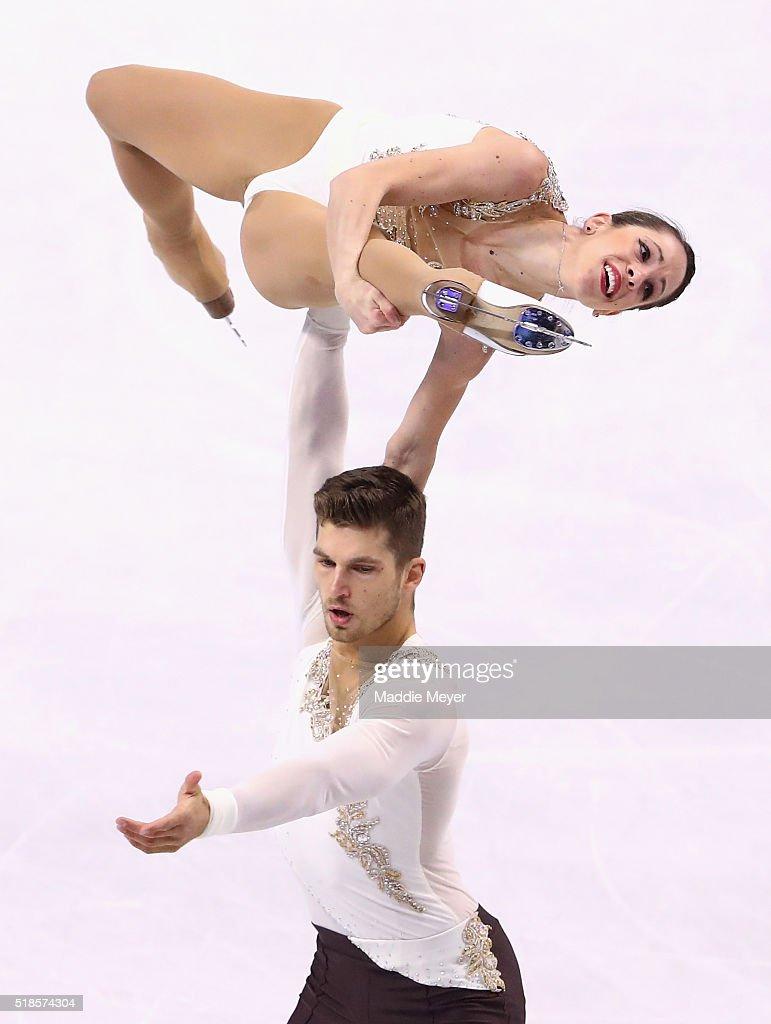 ISU World Figure Skating Championships 2016 - Day 5